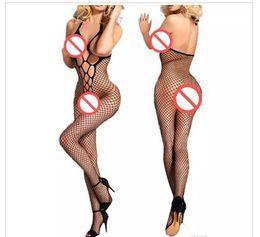 Argentina Ropa interior atractiva más nueva de las mujeres Bodystockings vestido atractivo Babydolls ropa interior de la rejilla medias productos del sexo sexo erótico Lin Tai juguetes al por mayor Suministro