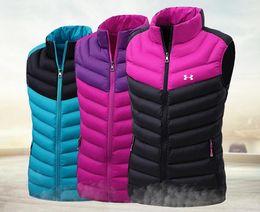 Canada Vest femmes automne et hiver épaisses bas coton hiver gilet veste jeunesse beau gilet haute qualité chaud manteau d'extérieur L-5XL Offre