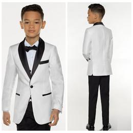 605615a9cc8 New White Boy Suit Set Kids Boy Suits for Weddings Prom Suits Children  Formal Dress for Boys Kids Tuxedo (Jacket+Pants+Vest)