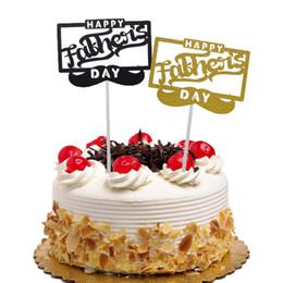 cupcakes do dia de pais Desconto 20 pc Toppers Bolo Bandeiras Dia dos Namorados Feliz Glitter Queque Do Queque Do Aniversário Dos Miúdos Do Casamento Da Noiva Bolo de Festa Do Chuveiro Do Bebê de Cozimento DIY