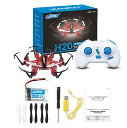 2019 летающий вертолет игрушечный пульт Мини Дроны 6 Оси Rc Dron Jjrc H20 Микроквадрокоптер RC Quadcopter Летающий вертолет Пульт дистанционного управления Игрушки Nano Copters скидка летающий вертолет игрушечный пульт