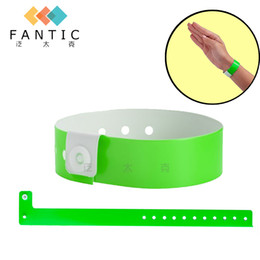 Wholesale Wholesale Wristbands For Events - 100pcs no logo different colors available vinyl wristbands for events pvc wristband festival bracelet event wristband