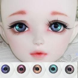 c040cdf20 Starry Gradiente Melro BJD Boneca Olhos 12mm 14mm 16mm 18mm Globo Ocular  Fantasia Estrelado 1/3 1/4 1/6 SD BJD Boneca Acessórios Eye Ball