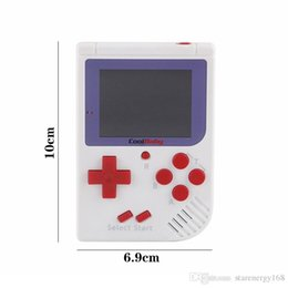 Wholesale handheld lcd tv - CoolBaby RS-6 Portable Retro Mini Handheld Game Console Color LCD Game Player For FC Game A-ZY