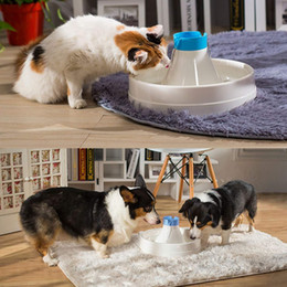 Wholesale Water Pump Electric - Automatic Electric 3L 360 Degree Pet Water Fountain Dog Cat Drinking Bowl with Quite Pump Feature