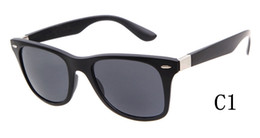 Wholesale mirror wrap car - 6 options HOT Brand Designer Glass Lens Sunglasses Men Women For Car Driving Squared Mirror Sun Glasses Male Femlae Eyewear oculos de sol