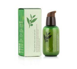 Wholesale korea wholesales - INNISFREE Korea Brand Green Bottle CREAM THE Green Tea Seed Serum Moisturizing Face Care Lotion 80ML New Face Skin Care Cream in stock