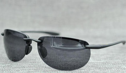 Wholesale Super Sun Glasses - Popular design maui jim 414 sunglasses Polarized lens mj sun glasses men women sports mj414 super rimless Aviator driving with original case