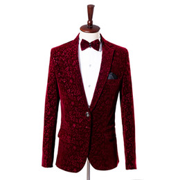 Squisiti legami di nozze online-Tuta da uomo Slim Fit abito da uomo business con design Exquisite Wedding Party Dress 3 pezzi Set (Blaze + Tie + Black Pant)