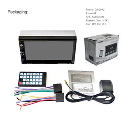 2019 mazda dvd gps bluetooth Auto DVD DHL 5PCS 7020G 7 Zoll HD Touch Screen Auto Bluetooth Audio Stereo MP5 Player Unterstützung GPS Navigation