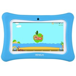2019 программное обеспечение для планшетов Kids Tablet 7 Inch Tablet PC Andriod 7.1 with 1GB RAM 8GB ROM and WiFi Bluetooth Kids Software Pre-Installed скидка программное обеспечение для планшетов