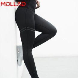 2019 mallas de entrenamiento de malla 2018 moda mujer gótica empuja hacia arriba las señoras de malla pantalones de entrenamiento leggings pantalones casuales de cintura alta sexy leggings rebajas mallas de entrenamiento de malla