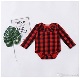 153883d7b94d 2018 Newborn Kids Plaid Romper Long Sleeve Tutu Rompers Onesies Bodysuit  Fashion Kid Girl Boutique Baby Girls Clothing. Supplier  happybabyb