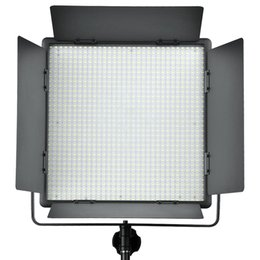 Wholesale Lights For Video Camera - Godox LED1000 4400Lux Dimmable White Yellow Photography Studio Video Led Panel Lighting With Remote Control for Camera Camcorder
