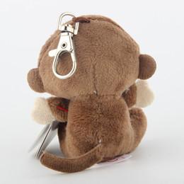 "Шапочка коричневая онлайн-Ty Beanie Boos Big Eyes Plush Brown Monkey Keychain Toy Doll Name Coconut With Tag 4"" 10cm"