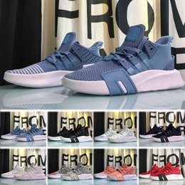 Adidas Air EQT Bask ART 2018 yeni EQT Bask Desteği Gelecek 93 17 Üçlü Beyaz siyah pembe Erkek kadın spor ayakkabı Sneakers Koşu Örgü Chaussures Tasarımcı Eğitmenler nereden