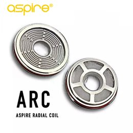 Wholesale Arc Kit - 100% Original Aspire Revvo Tank ARC (Aspire Radial Coil) Replacement Atomizer Coils Head for Skystar Typhon Mods Kits 0.1~0.16ohm Top Fill