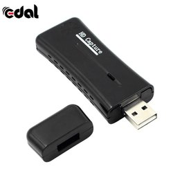Wholesale Video Capture Converter - EDAL USB 2.0 Easycap Video Audio Capture Card Adapter DVD Converter Composite Audio To Easy Cap Video Adapters