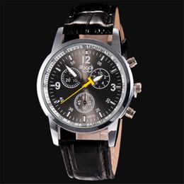 2019 reloj de cocodrilo de lujo Relojes de moda casual de Lujo de Cocodrilo de Imitación de Cuero Para Hombre Reloj Analógico Relojes de Pulsera Relogio Masculino rebajas reloj de cocodrilo de lujo