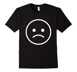 T-shirts emoji gesichter online-Frauen T-Shirt Schönes trauriges Gesicht Emoji T-Shirt. Nettes Emoji-T-Shirt für Sie Harajuku-lustige Marken-Kleidungs-Frauen-T-Shirt Kawaii übersteigt T-Stück