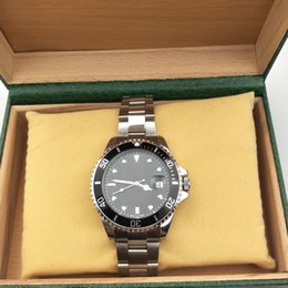 Wholesale 44mm Mens Luxury Watches - 44MM Dial Original Watches Luxury Brand Mens Watches Business Automatic Mechanical Watches Stainless Steel Wristwatches Famous Men Watch