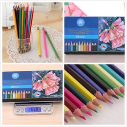 Wholesale Tin Pens - Water color pencils Color pencil 12 colors Gift Tin Box Secret Garden Pen Adults Kids Drawing pencil High-quality Free DHL