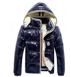 черное кожаное спортивное пальто Скидка Мода зима пуховик Мужские толстовки Майя теплое пальто Anorak куртки мужские роскошные верхняя одежда Марка дизайнер Мужские пальто для продажи