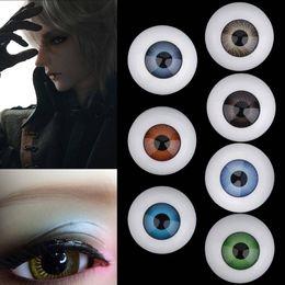 acabamento atacado Desconto Nova 26mm Reborn Baby Doll Olhos Metade Rodada Acrílico Globo Ocular para Newborn Dolls Suprimentos Boneca Acessórios