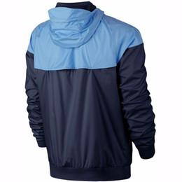 giacca sportiva modello Sconti 2018 Uomo Primavera Autunno Windrunner giacca Sottile Cappotto, uomini giacca sportiva giacca a vento esplosione Nero modelli paio panno lily821