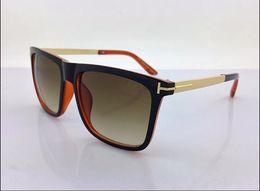 Wholesale summer shades - Luxury Sun Glasses Women Brand Designer Fashion Square Sunglasses Erika Ford Ladies Summer TOM Eyewear Retro Shades Sunglass