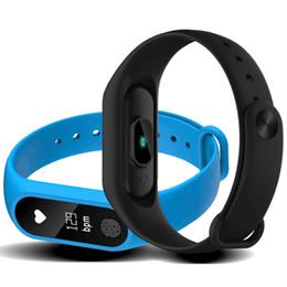 Argentina Best seller Pulsera Inteligente Rastreador de Fitness Frecuencia Cardíaca Pulsera de Salud Podómetro IP67 Impermeable Pulsera Inteligente M2 Para Android IOS 20 pc / lot cheap best wristband trackers Suministro