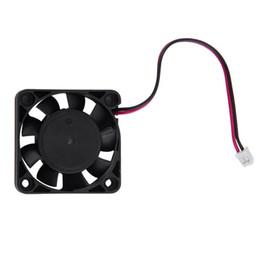 Вентилятор 4 см 12v онлайн-DC 12V 4CM 2 Pin Бесщеточный графический адаптер VGA Cool Cooler Fan для портативных ПК Оптовая продажа Drop