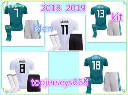 Wholesale Football German - Germany 2018 kit World Cup home jersey MULLER OZIL HUMMELS KROOS WERNER SANE SCHURRLE M.GOTZE German national team 2018 men Football jerses