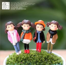 Hayao Miyazaki Meu Vizinho Totoro 4 cm Modelo Brinquedos 4 estilos Japão Anime PVC Figura de Ação Zakka Desktop Decoração Artesanato de