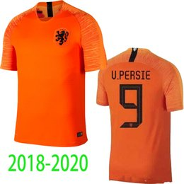 2018 20 Holland soccer jersey home orange netherlands national team JERSEY  memphis SNEIJDER 19 20 V.Persie Dutch football shirts AAA quality c63f354a0