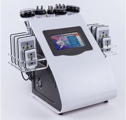 2019 diodo laser 16 pads Atacado 40 k máquina de cavitação ultra-sônica lipoLaser Máquina de vácuo RF ultra-sônica lipoaspiração cavitação máquina de emagrecimento para venda