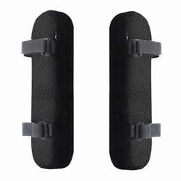 support office chairs Coupons - 2pcs Chair Armrest Pads Ultra-Soft Memory Foam Elbow Pillow Support Universal Fit For Home or Office Chair For Elbow Relief