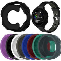 relógio gps de qualidade Desconto 2018 novo colorido de alta qualidade silicone pulseira pulseira protetora case capa para garmin precursor 235 / 735xt gps watch