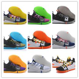 brand new fb67d 2021b 2018 New Arrive Kobe A.D. Exodus Derozan Grayish Yellow Sai BHM Basketball  Shoes AAA Quality Multicolor Mens Trainers Designer Sneakers 7-12