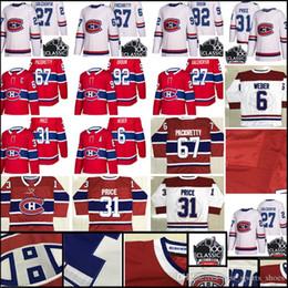 Wholesale montreal price - New Montreal Canadiens Jersey Men's #31 Carey Price 6 Shea Weber 27 Alex Galchenyuk 92 Jonathan Drouin Jerseys