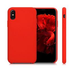 Telefone celular marca blackberry on-line-Marca oficial capa de silicone macio capa traseira protetor de telefone móvel à prova de choque Para novo iphone 11 xs max nota 10 com pacote de varejo