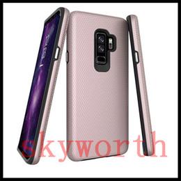 Capa de iphone super slim on-line-Para iphone x 8 7 6 s plus samsung galaxy s8 s9 mais fino casos de telefone hybird capa super boa qualidade triângulo case