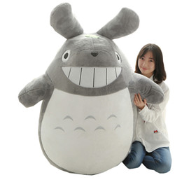 totoro figures Coupons - Dorimytrader Kawaii Japanese Anime Totoro Plush Toy Large Stuffed Soft Cartoon Totoro Kids Doll Cat Pillow for Children and Adults 180cm