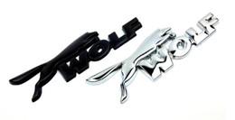3D WOLF Logo De Voiture Coffre Arrière Emblème Badge Autocollant Pour ford Focus Fiesta Mondeo Kuga Ecosport Auto Accessoires ? partir de fabricateur