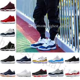 original basketball shoes for sale Coupons - New Gym Red GS Midnight Navy 'Win Like 82' 11 Basketball Shoes hot sale Men original Sneakers Boots Weaving 11S Boots Cheap online for sale
