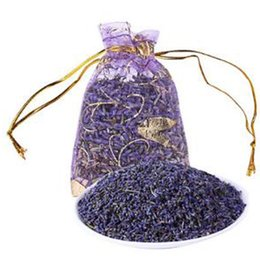 Wholesale wholesale scented sachet - New Natural Dried Lavender Scented Fragrance Sachet Aromatherapy Automobile Closets Dresser Car Bedroom Air Freshener Perfume Aroma Sachets