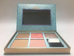 Wholesale cheek brushes - Top Quality ! CHEEK PARADE & Cheekathon & Blush Bar Spring Blush Limited Edition Highlighter Contour makeup powder blush Palette + Brush