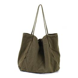 2018 Ladies Cloth Canvas Tote Bag Handmade Cotone Shopping Viaggi Borse da donna Borse a tracolla pieghevoli Borse shop bolsas de tela da