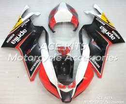 fairing rsv Coupons - ACE Motorcycle Fairings For Aprilia RSV 1000 2004 2005 Compression or Injection Bodywork A variety of color No.689