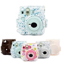 2019 кристаллические камеры Новое прибытие Кристалл оболочки камеры мешок случае для Instax mini 8 8 + 9 камеры защитная крышка с ремешком дешево кристаллические камеры